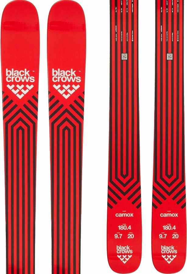 Black Crows Camox Skis 174cm, Red/Black, Ski Only
