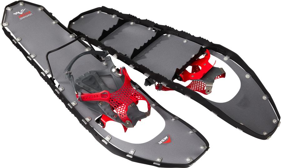 MSR Lightning Ascent Ultralight All-Terrain Snowshoes, M30 Black