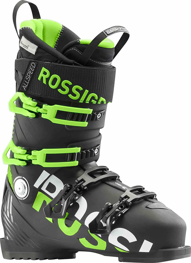 Rossignol Allspeed Pro 100 Ski Boots, 26/26.5 Black 2019
