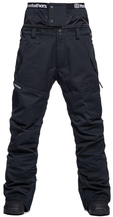 Horsefeathers Charger Ski/Snowboard Pants, L Black