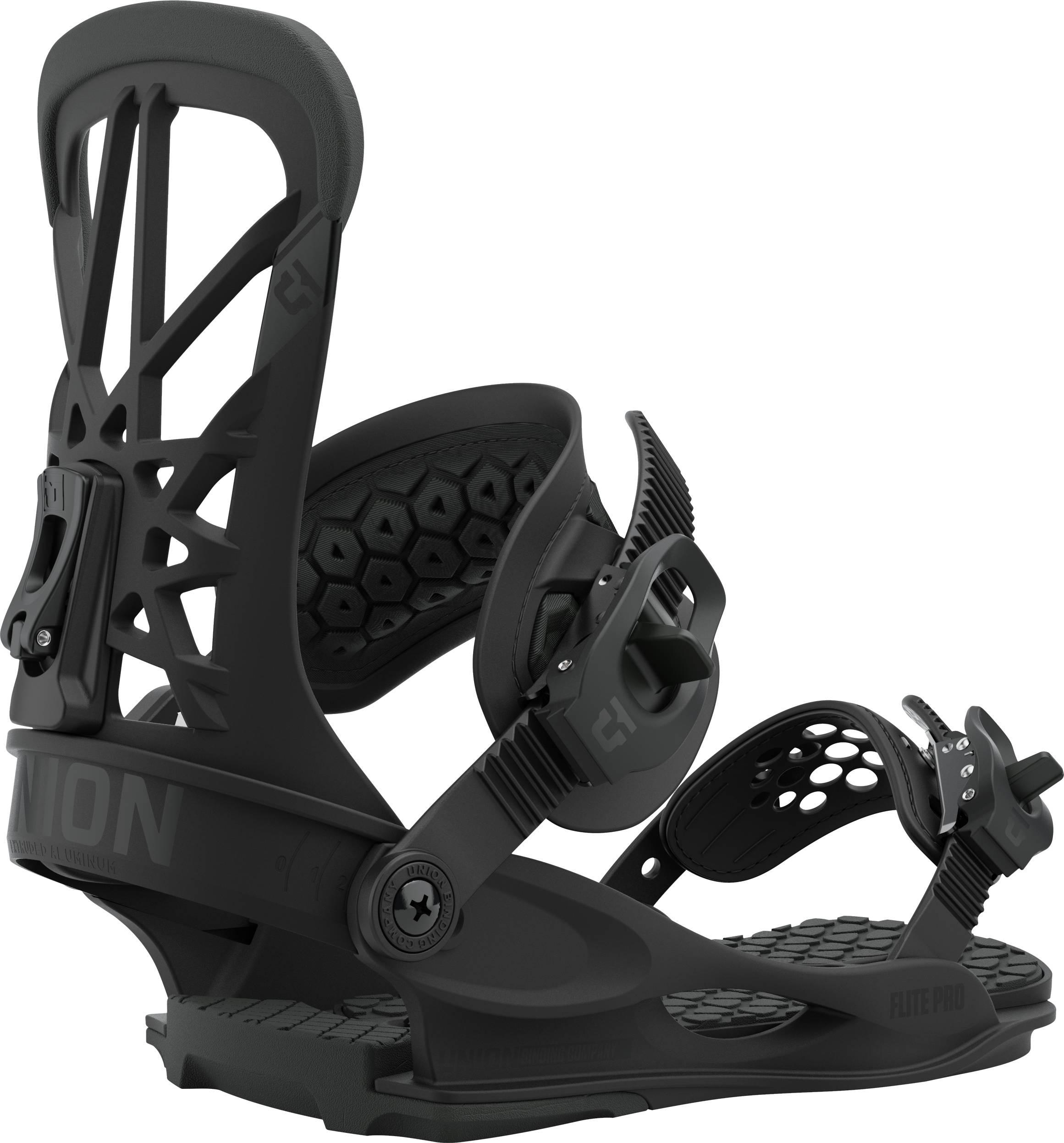 Union Flite Pro Snowboard Bindings, M Black 2021