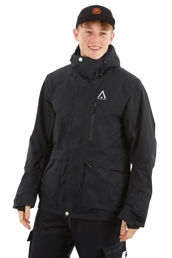 Wearcolour Ace Snowboard/Ski Jacket, L All Black