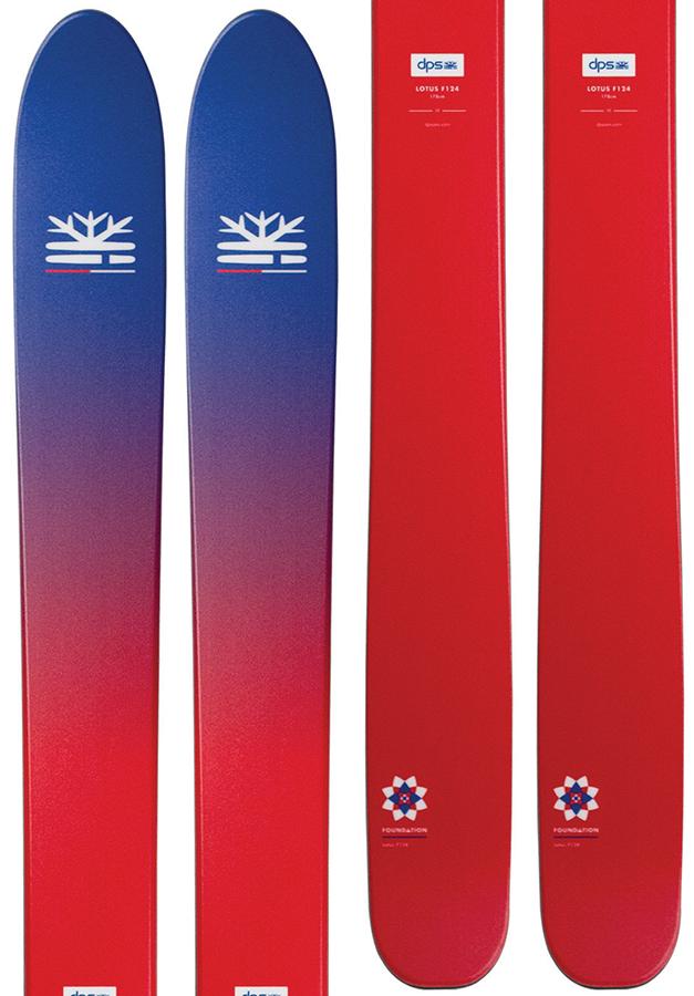 DPS Lotus 124 Foundation Skis, 185cm