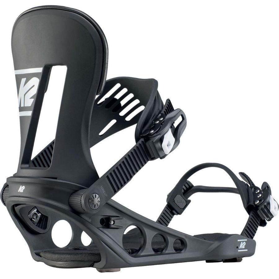 K2 Adult Unisex Line Up Snowboard Bindings, XL Black 2020