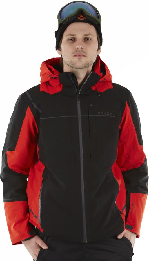 Spyder Titan GTX Ski/Snowboard Jacket, L Black
