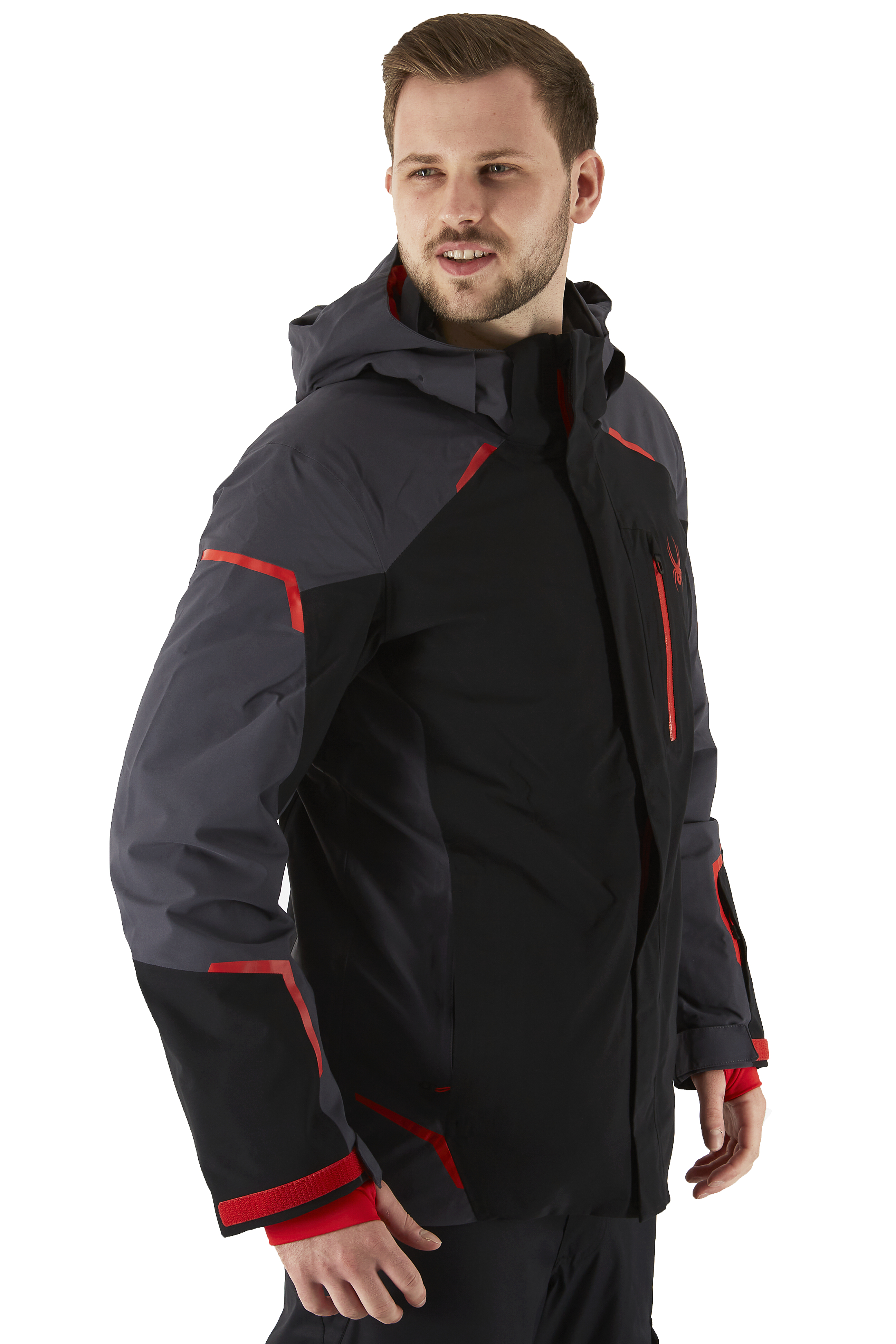 Spyder Copper Gore-Tex Ski/Snowboard Jacket, M Charcoal