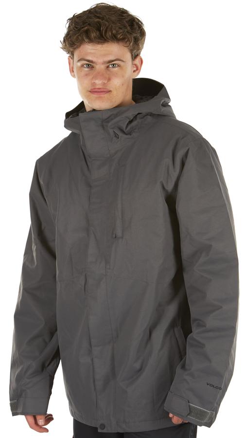 Volcom 17 Forty Insulated Ski/Snowboard Jacket, XL Dark Grey