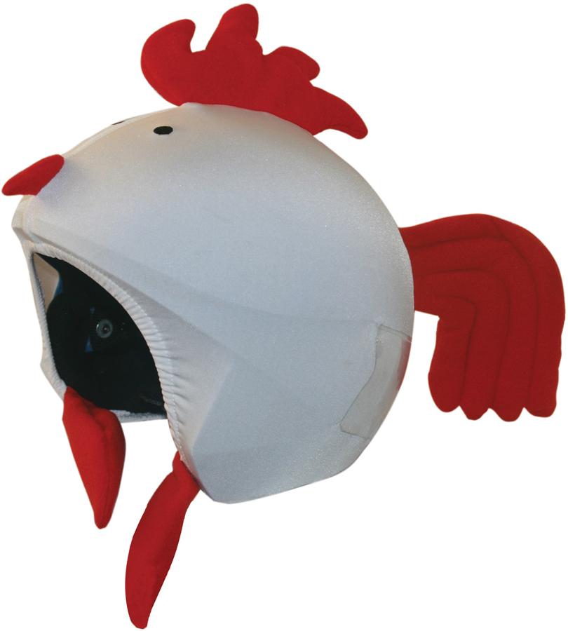 Coolcasc Animals Ski/Snowboard Helmet Cover, One Size, Hen