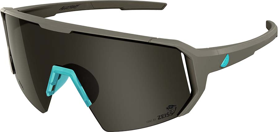 Melon Alleycat Smoke Performace Sunglasses, Grey/Turquoise