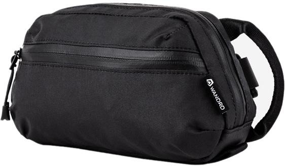 WANDRD Toiletry Bag Wash Pouch, Medium Black