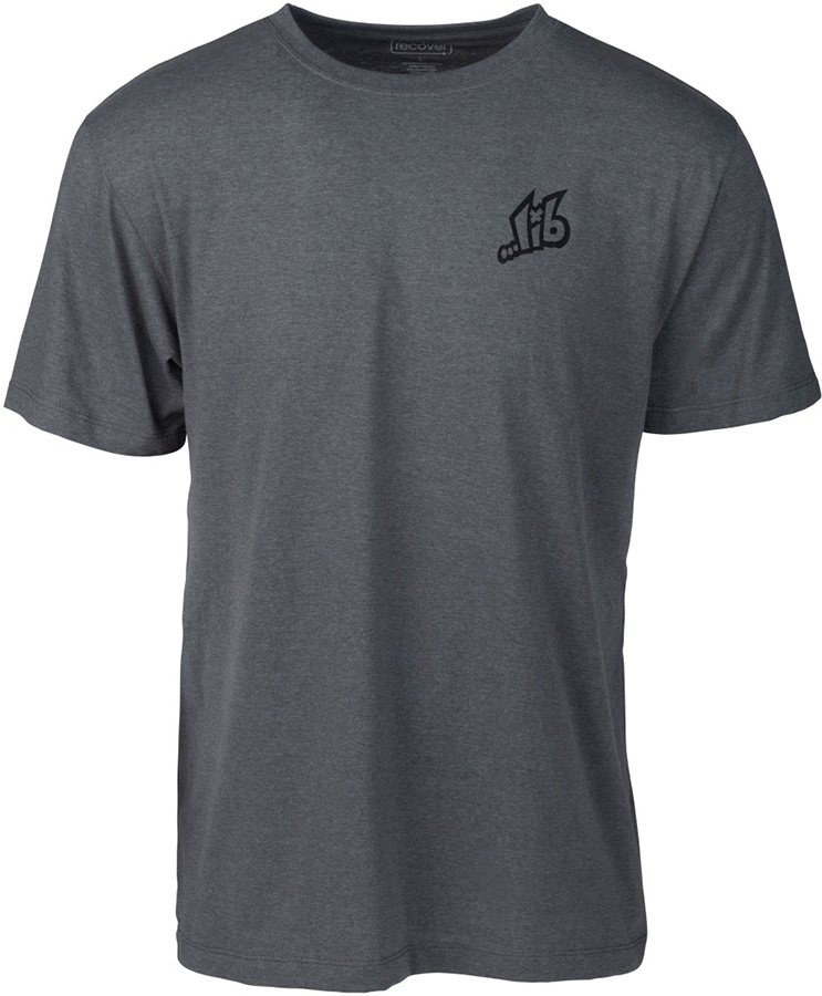 Lib Tech ...Lib Eco Tee Short Sleeve Snowboard T-shirt, M Grey