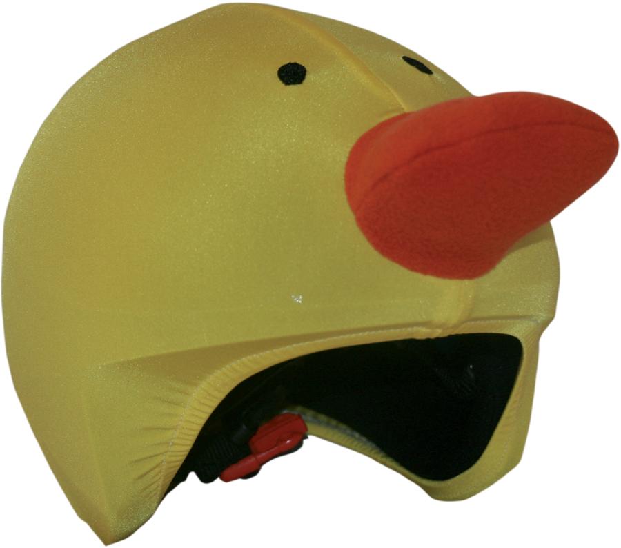 Coolcasc Animals Ski/Snowboard Helmet Cover, One Size, Duck