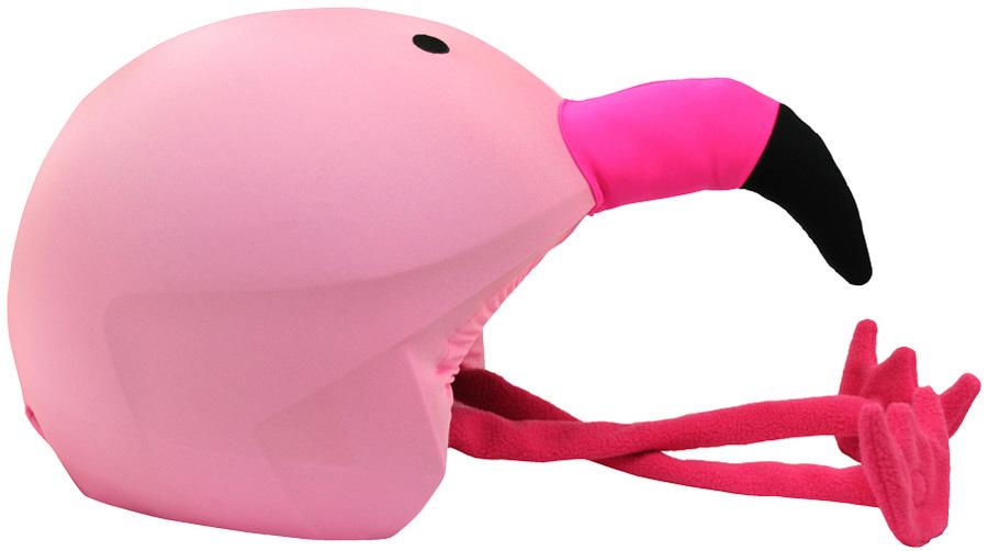 Coolcasc Animals Ski/Snowboard Helmet Cover, Flamingo