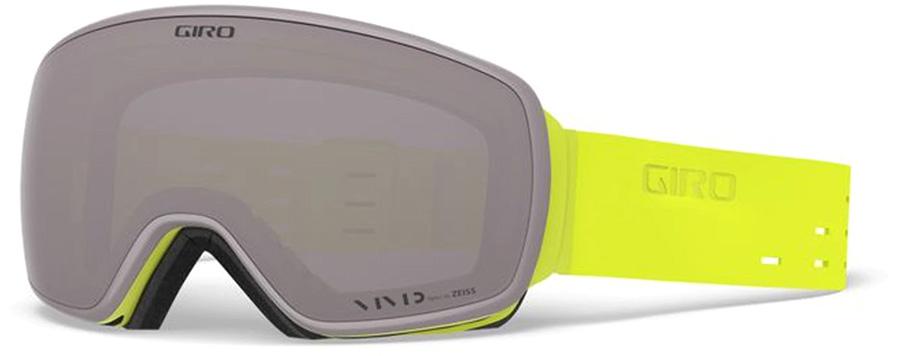 Giro Agent Vivid Onyx Ski/Snowboard Goggles, L Silicone Citron
