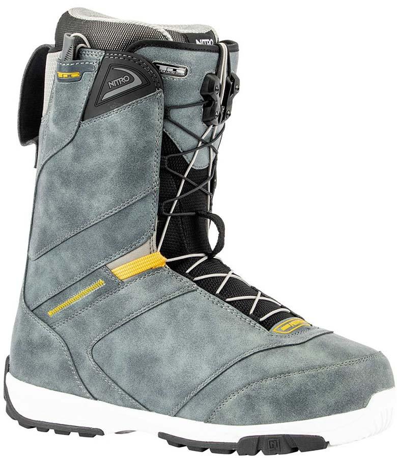 Nitro Anthem TLS Snowboard Boots, UK 7.5 Charcoal 2020
