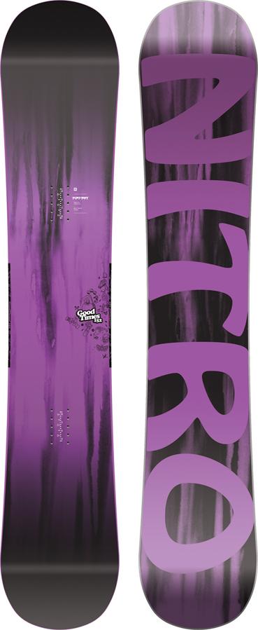 Nitro Good Times Hybrid Camber Snowboard, 152cm 2019