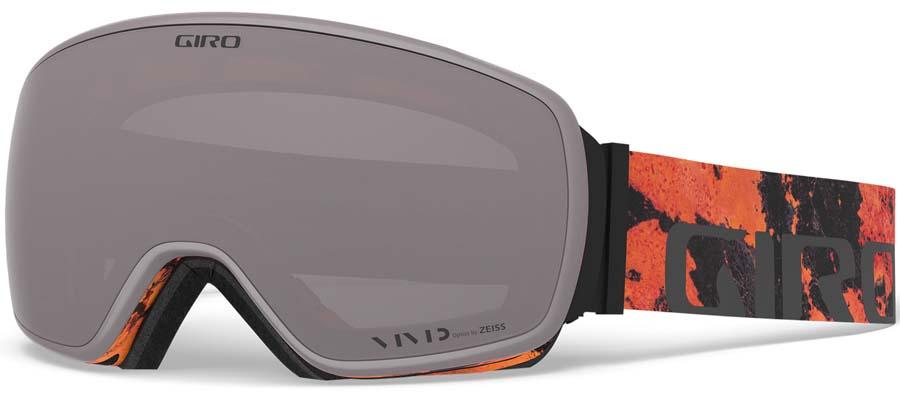 Giro Agent Vivid Onyx Ski/Snowboard Goggles, L Lava