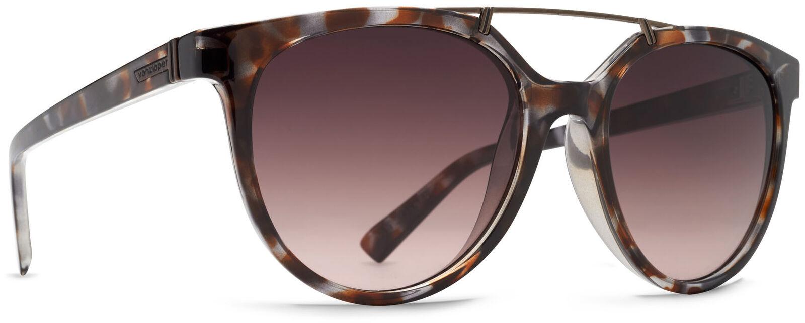 Von Zipper Hitsville Brown Gradient Lens Sunglasses, Tortoise Gloss