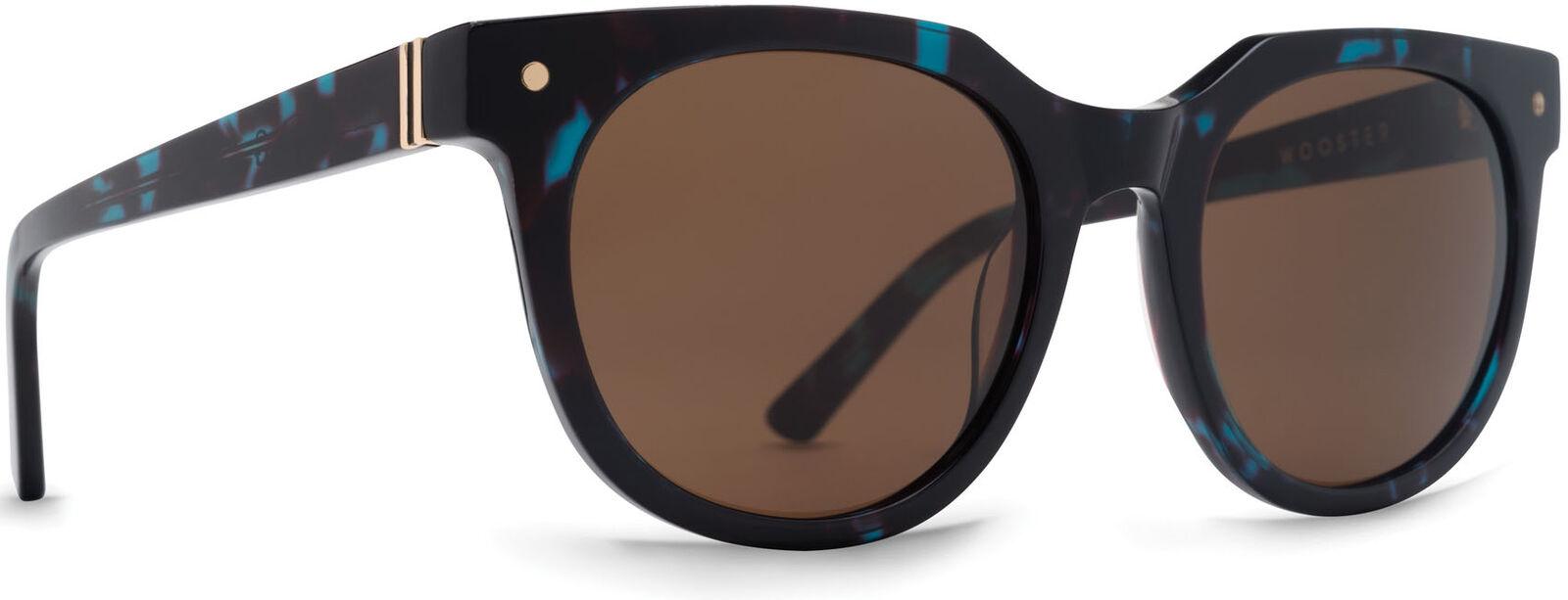 Von Zipper Wooster Brown Lens Sunglasses, Tortoise Satin