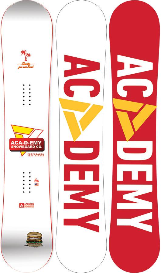 Academy Propaganda Zero Camber Snowboard, 152cm 2020