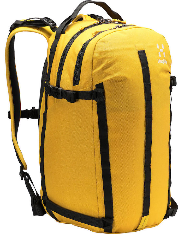 Haglofs Elation 30 Ski/Snowboard Backpack, 30L True Pumpkin Yellow