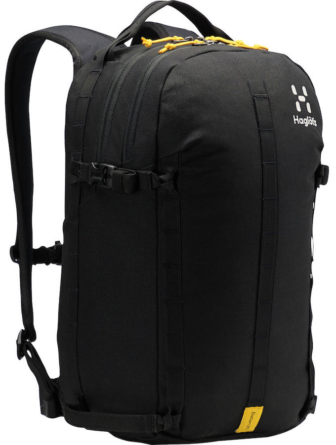 Haglofs Elation 20 Ski/Snowboard Backpack, 20L True Black