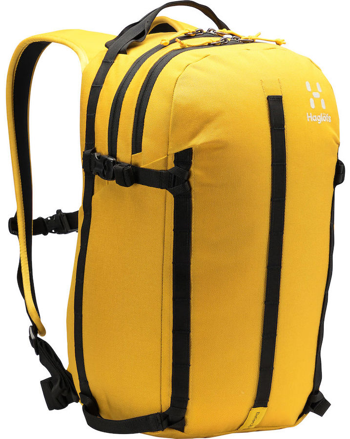 Haglofs Elation 20 Ski/Snowboard Backpack, 20L True Pumpkin Yellow