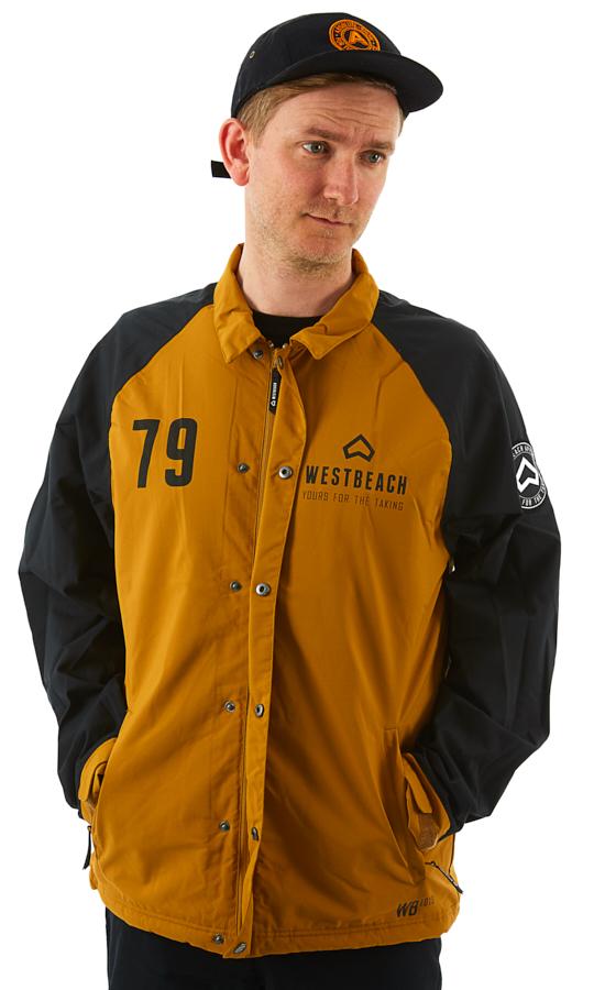 Westbeach Cruiser Ski/Snowboard Coaches Jacket, L Brown Sugar