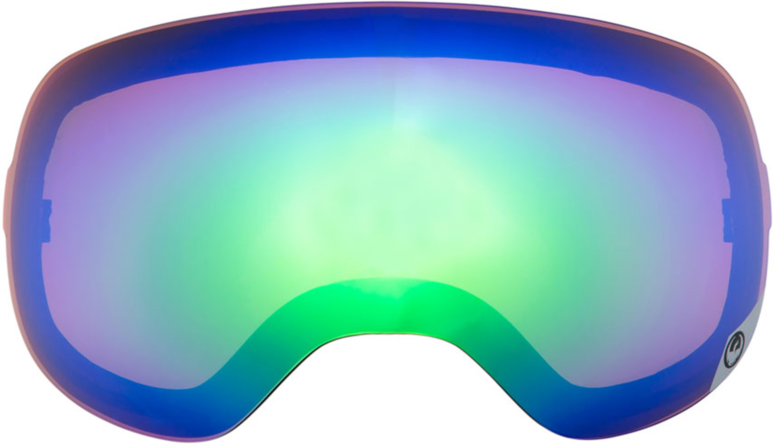 Dragon D3 Snowboard/Ski Goggles Spare Lens, One Size, Green Ionized