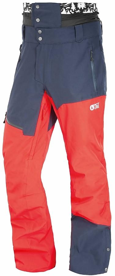 Picture Alpin Ski/Snowboard Pants, L Red Dark Blue