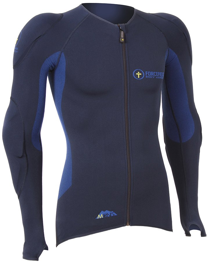 Forcefield Mons Jacket Level 1 Body Armour, S Navy