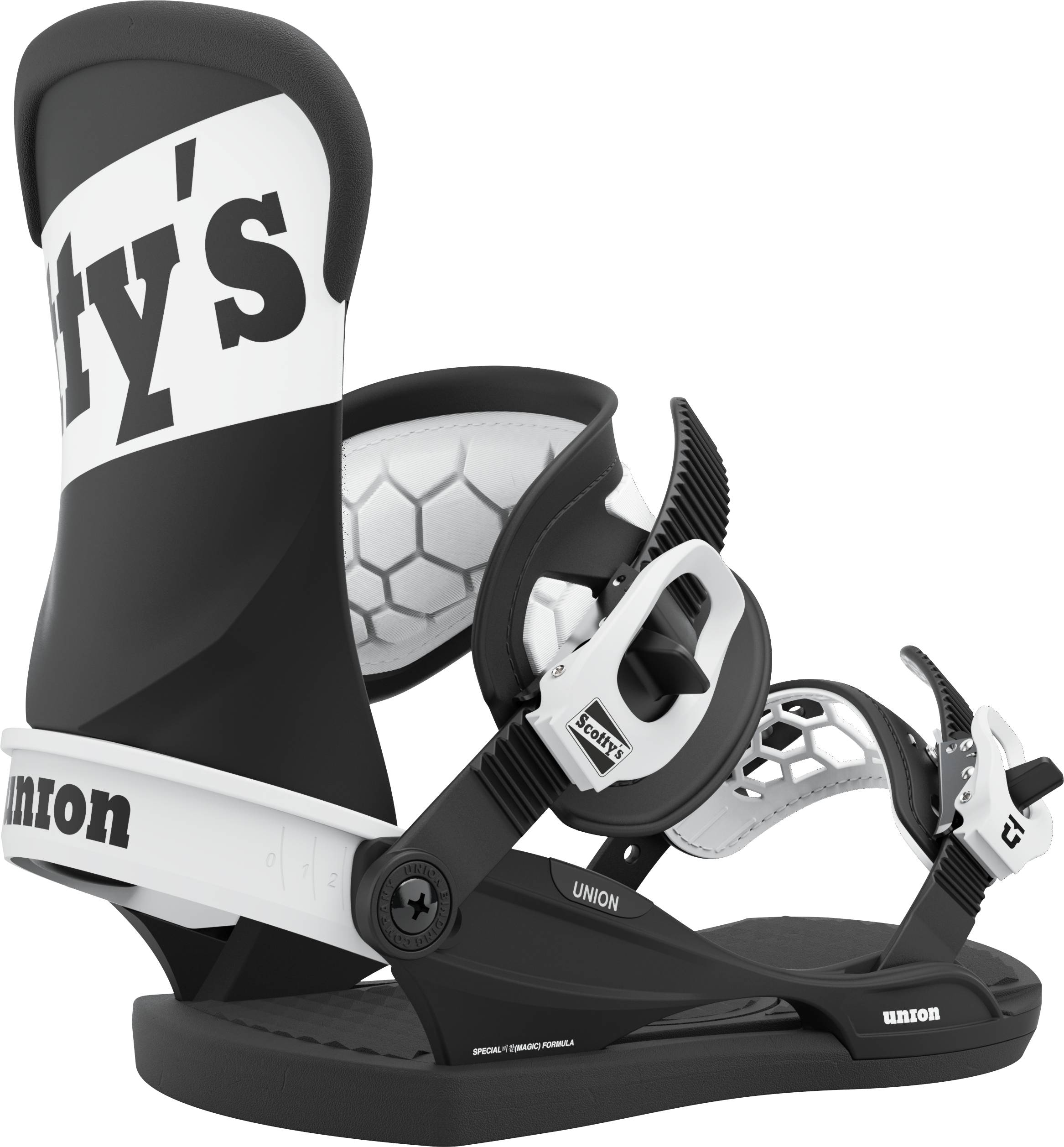 Union Contact Pro Scott Stevens Pro Snowboard Bindings L Scotty