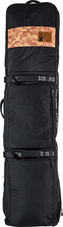 Rome Cache Wheelie Snowboard Bag, 168cm Black/Camo