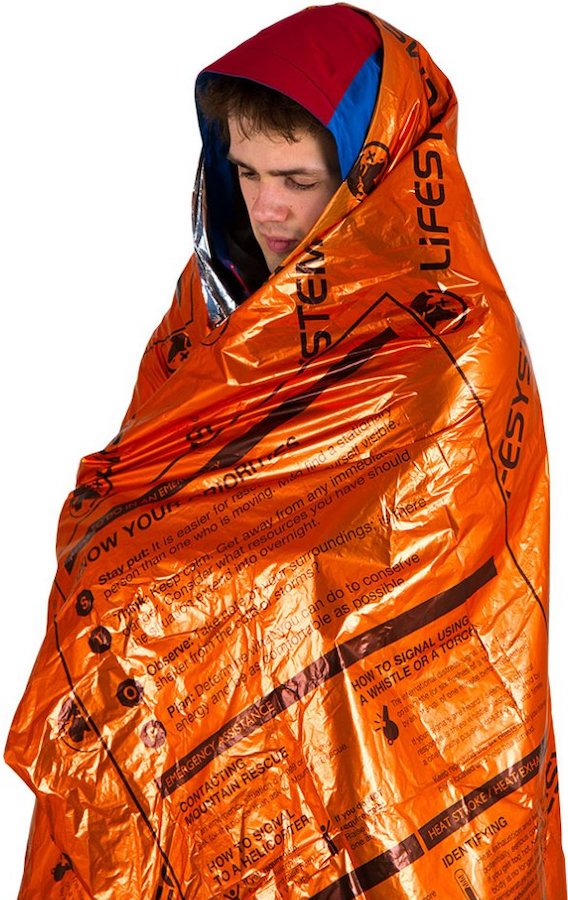 Lifesystems Heatshield Thermal Blanket Compact Survival Bag, Single