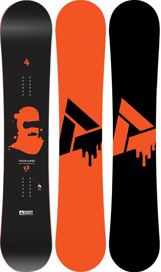 Academy Propacamba Positive Camber Snowboard, 155cm 2020