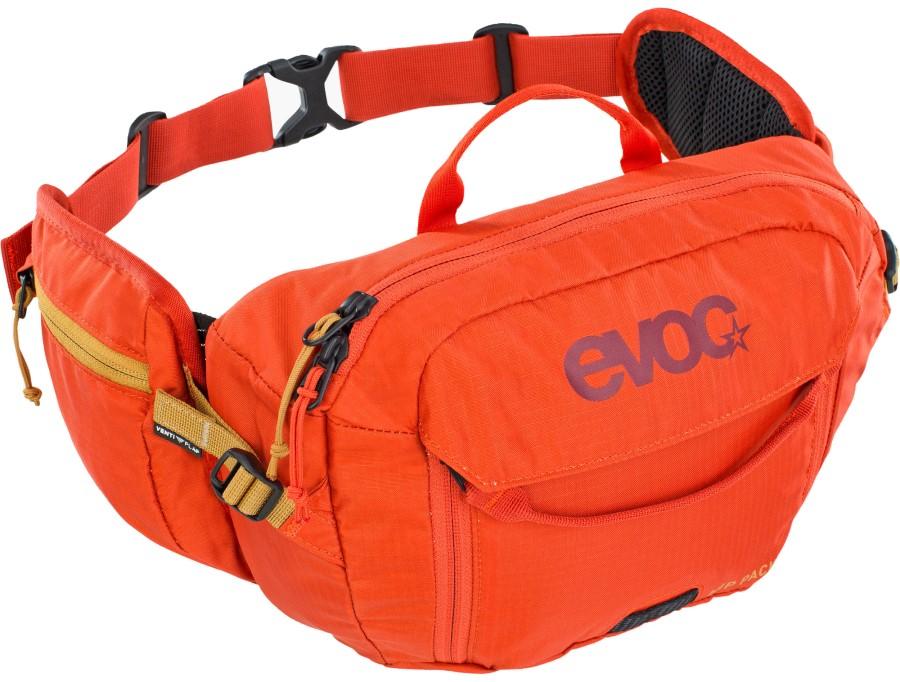 Evoc Hip Pack + Hydration Bladder Waist Pack, 3L Orange