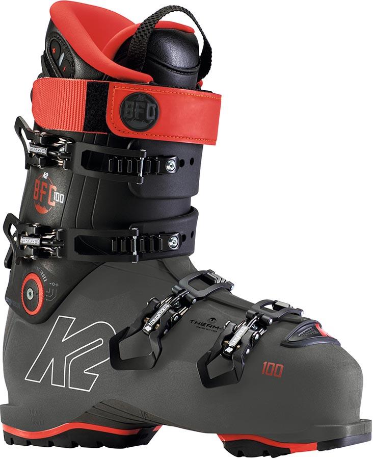 K2 BFC 100 GW Ski Boot, 24.0/24.5 Grey/Red 2020