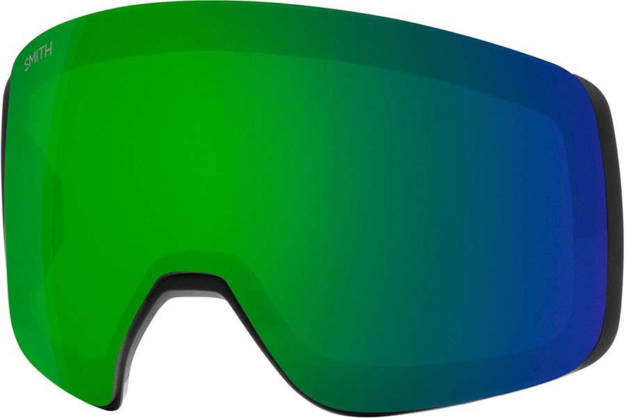 Smith 4D Mag Snowboard/Ski Goggle Spare Lens, CP Sun Green Mirror
