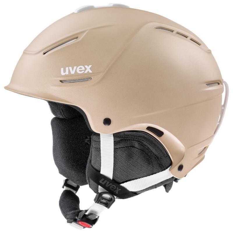 UVEX Adult Unisex P1us 2.0 Ski/Snowboard Helmet, M Prosecco Met Mat