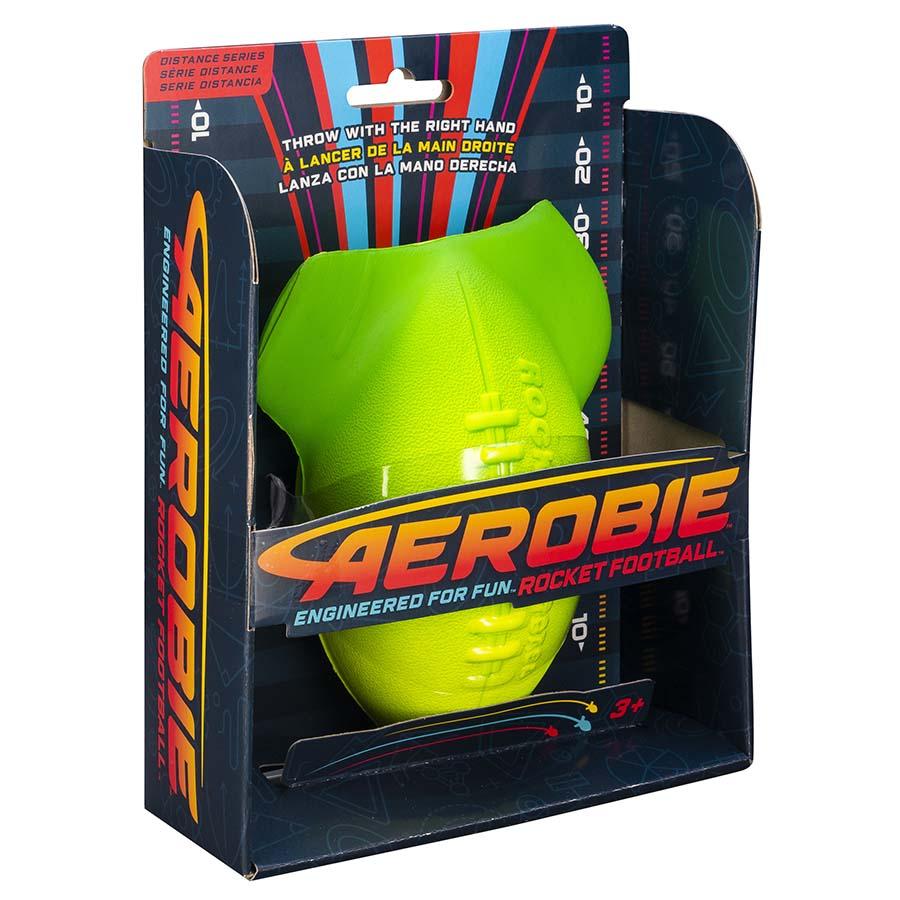 Aerobie Rocket Football, 15cm Green
