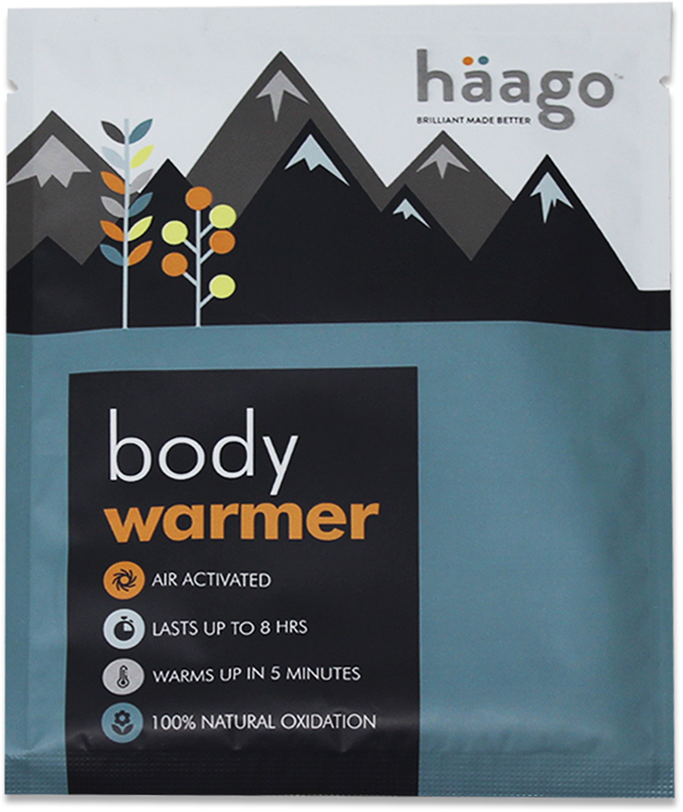 Haago Disposable Recyclable Body Warmer, One Patch