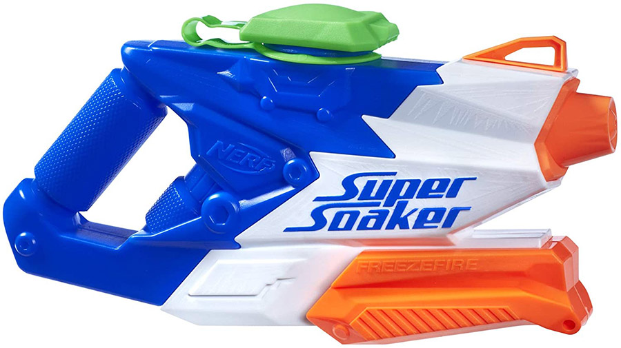 Nerf FreezeFire 2.0 Super Soaker, Water Gun Blaster Pistol, 591ml