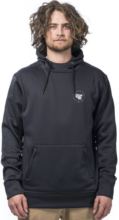 Horsefeathers Barry DWR Technical Hoodie, XL Black