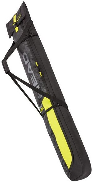 Head Double Ski Bag, 70L Black/Yellow
