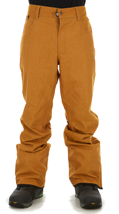 Saga Brighton Ski/Snowboard Pants, L Tobacco