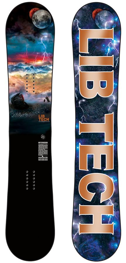 Lib Tech Box Scratcher Hybrid Camber Snowboard, 154cm 2020