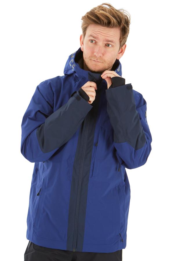 Peak Performance Rider Ski Insulated Snowboard/Ski Jacket, L Blueprint