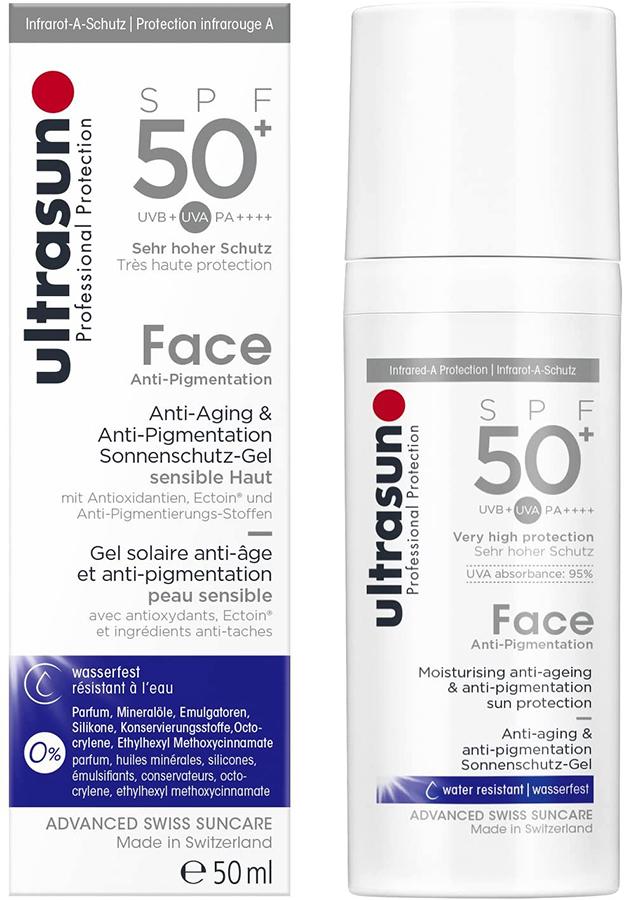 Ultrasun Face Sunscreen SPF 50+ Anti-Pigmentation Lotion, 50ml