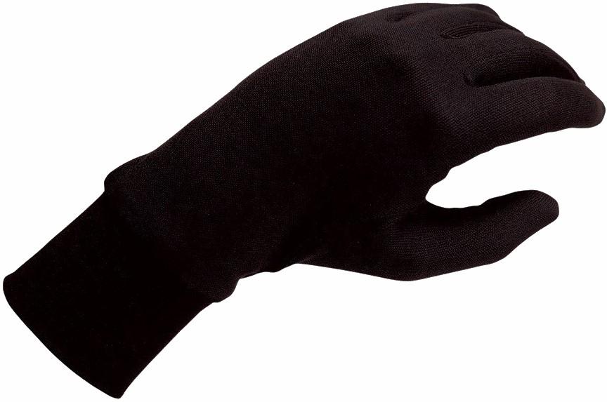 Silkbody Puresilk Ski/Snowboard Liner Gloves, S Black