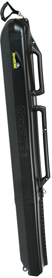 Sportube Series 2 Double Ski Travel Case, 122cm-212cm Black